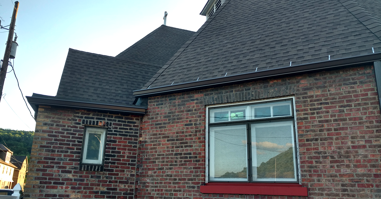 Home Indiana Seamless Gutter Installation Leaf Guard